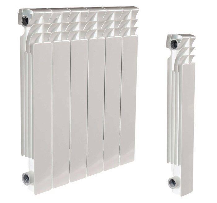 Какие алюминиевые радиаторы отопления лучше выбрать - сравнение типов и конструкций