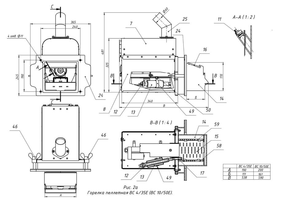 Пеллетная горелка своими руками — сборка и автоматизация процесса