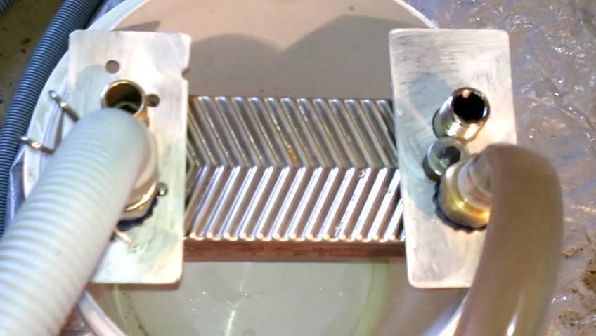 Как прочистить теплообменник у газового котла