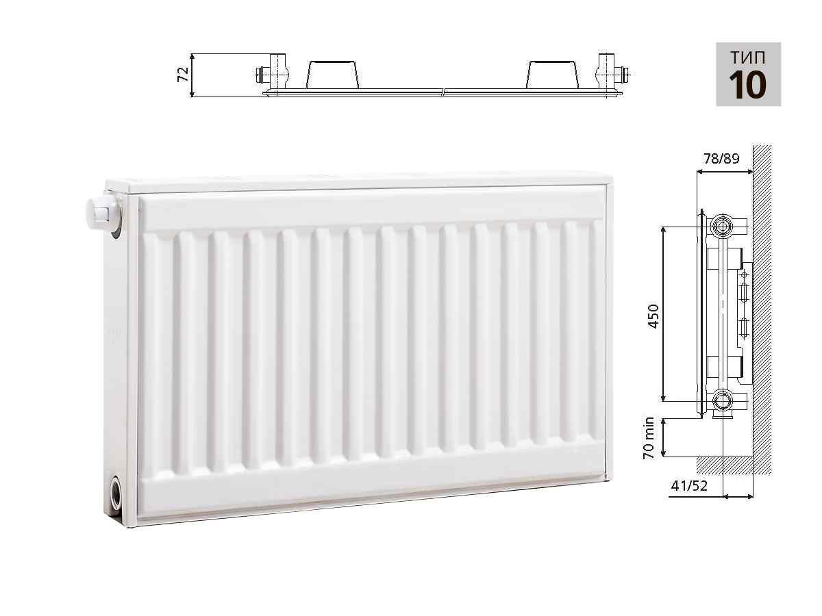 Стальные панельные радиаторы отопления: характеристики и эксплуатация батарей