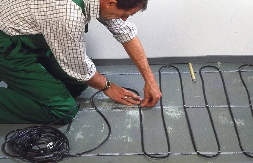 Электрические теплые полы под плитку: технология устройства