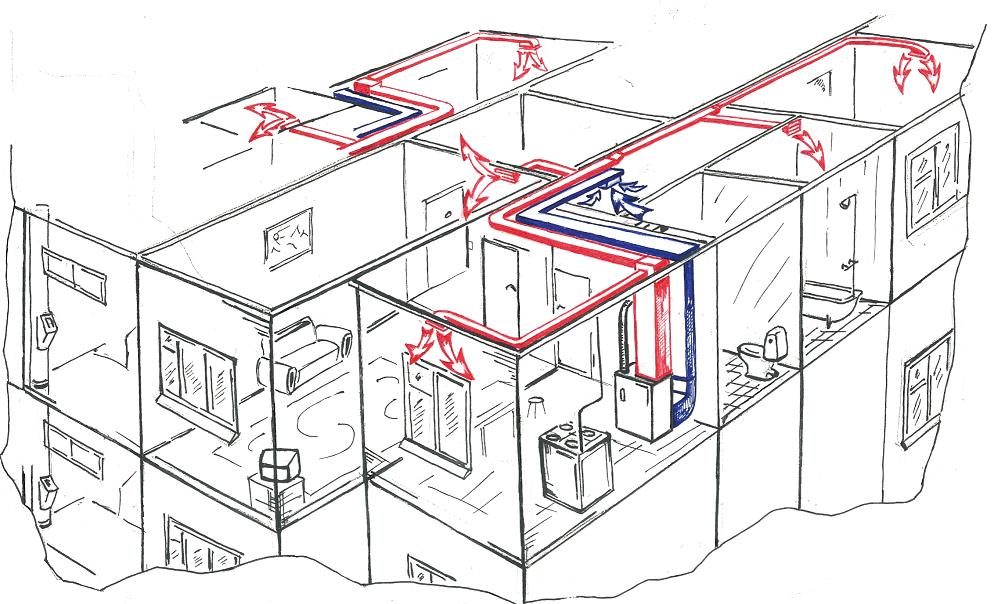 Запуск отопления в частном доме в зимнее время: порядок, инструкции