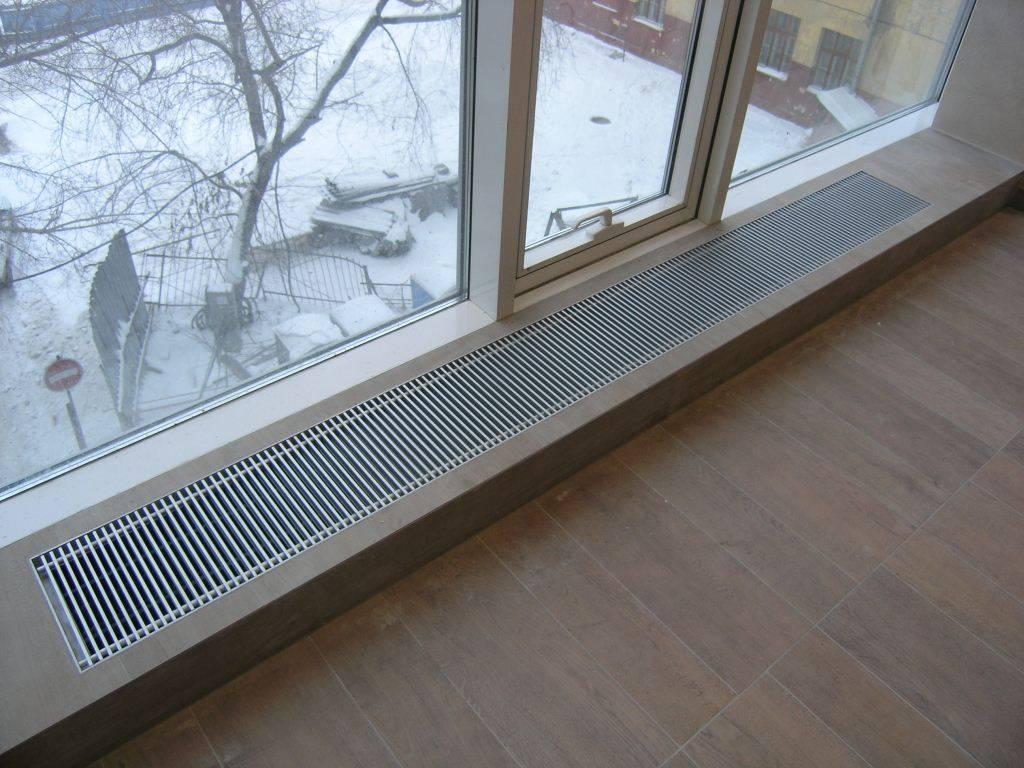 Напольные радиаторы отопления - особенности, выбор