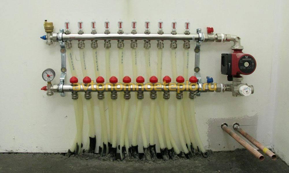 Коллектор отопления: что это такое, схема и изготовление своими руками