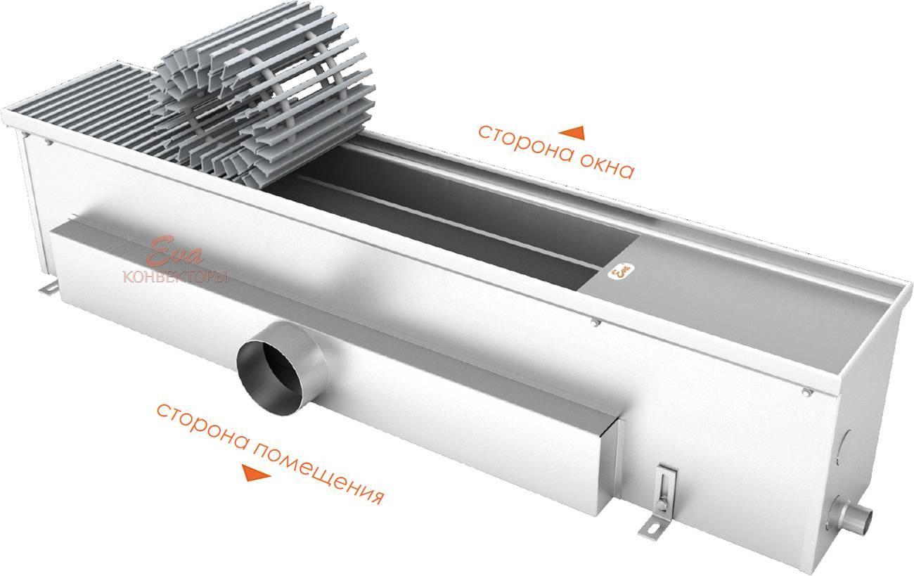 Конвекторы отопления водяные: настенные, напольные отопительные радиаторы конвекторного типа с вентилятором