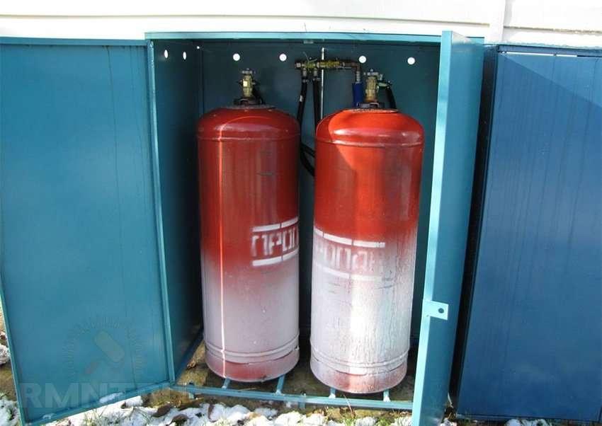 Отопление частного дома газовыми баллонами расход - всё об отоплении и кондиционировании