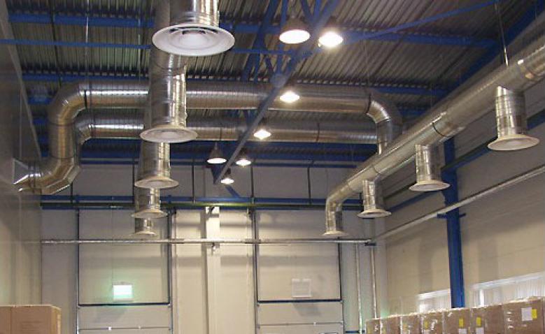 Отопление производственных помещений, воздушное для промышленных зданий, расчет системы