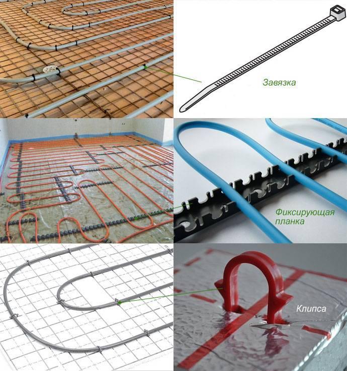 Расстояние между трубами теплого пола: укладка полипропиленовых изделий, монтаж металлопластиковых труб своими руками