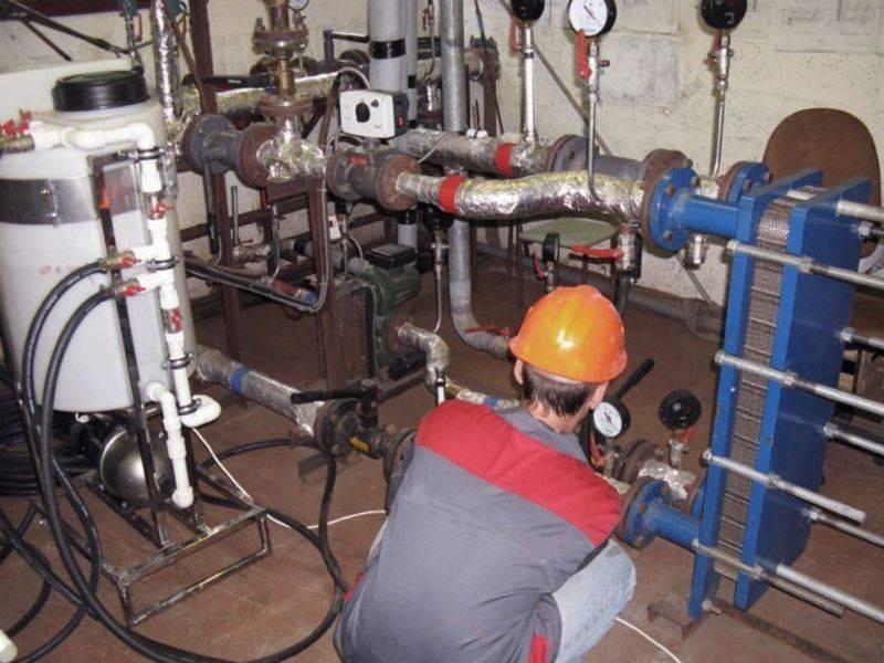 Поквартирное отопление, промывка систем в многоквартирном доме