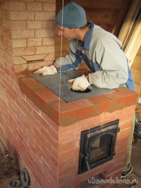 Ремонт печи из кирпича своими руками: методы, особенности и инструменты