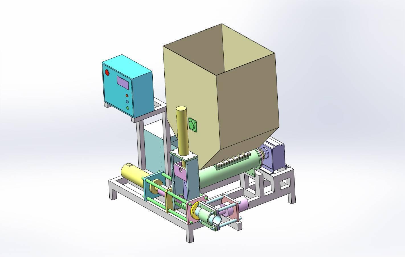 Пресс для топливных брикетов своими руками: варианты и чертежи самодельного брикетировщика