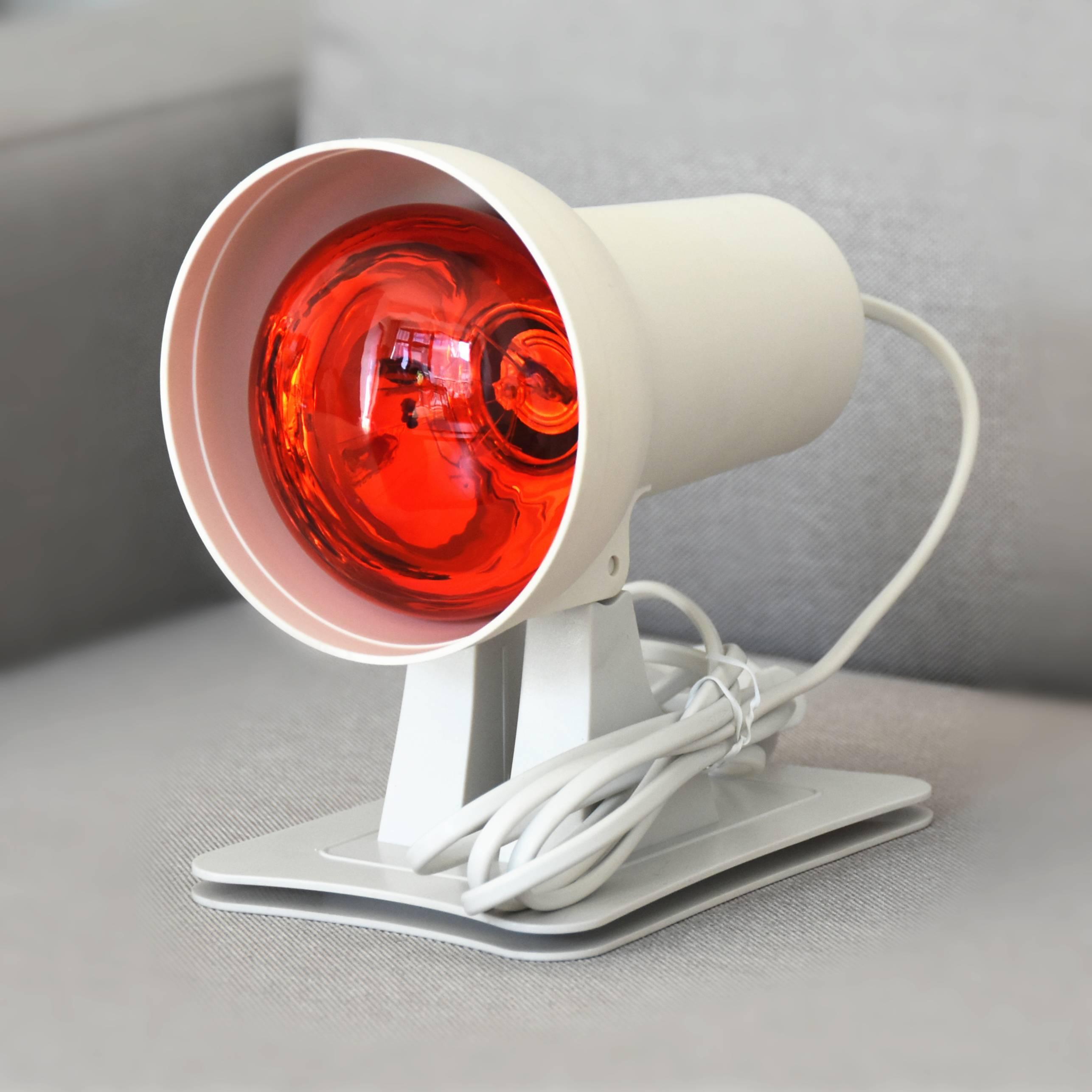 Инфракрасная лампа: для обогрева, применение лампы, виды