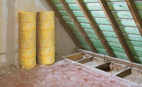 Утепление чердака минватой, как правильно изолировать минеральной ватой в частном доме