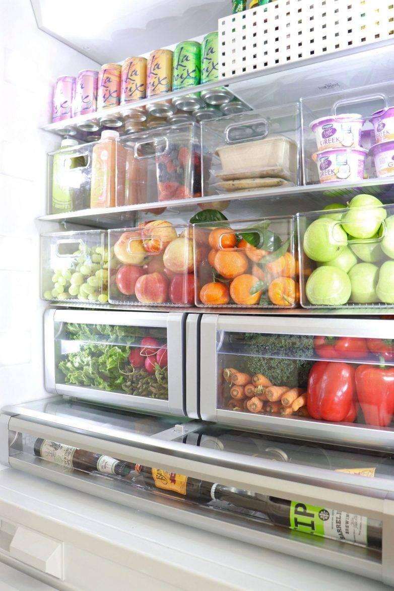 Как грамотно и экономно использовать пространство в холодильнике: советы и правила