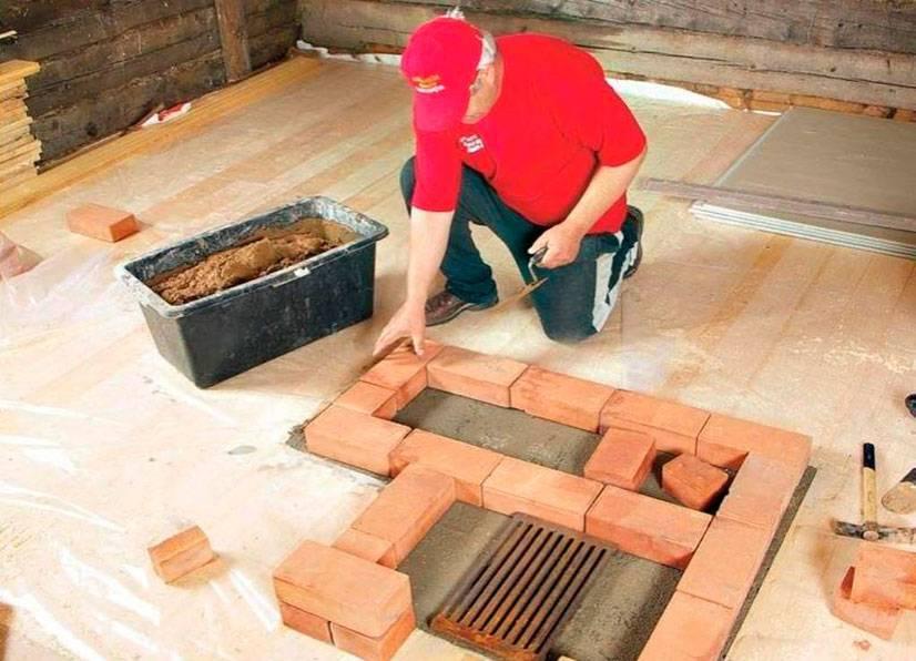Сложно ли построить камин в деревянном доме и что для этого необходимо знать и иметь