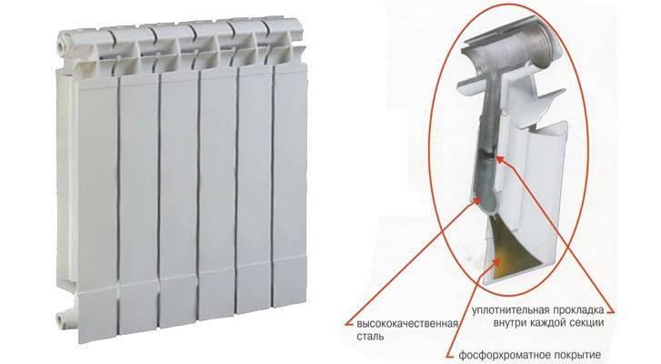 Как разобрать биметаллический радиатор отопления