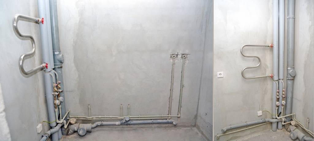 Прокладка трубопроводов отопления: скрытая и внешняя