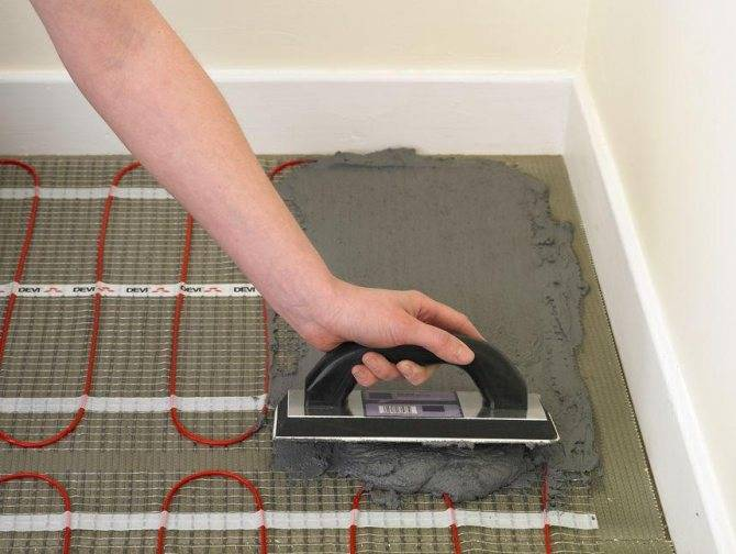 Монтаж электрических теплых полов: кабельных и пленочных инфракрасных