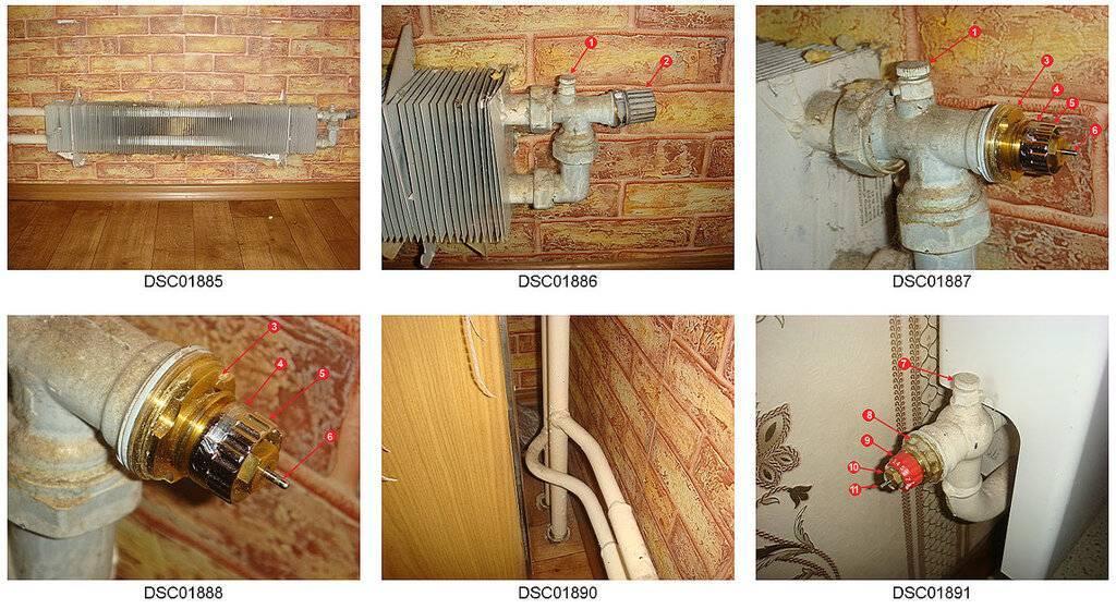 Регулировка батарей (радиаторов) отопления в квартире