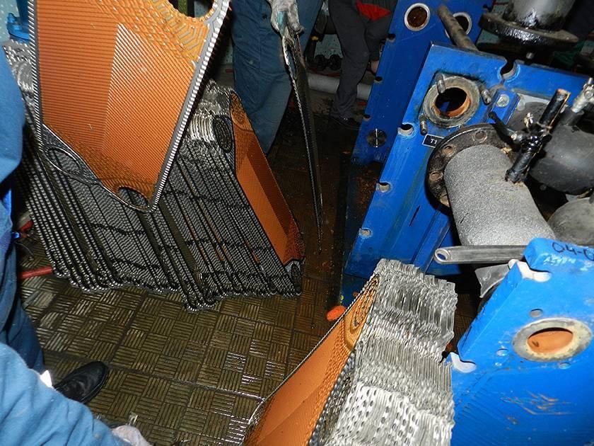 Как почистить газовый котел с промывкой теплообменника