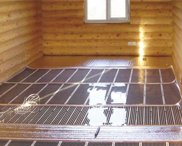 Как обустроить теплые полы в деревянном доме - особенности устройства по лагам, характеристика водяной системы обогрева, смотрите фотографии и видео