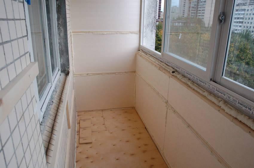 Утепление балкона (лоджии) пеноплексом: технология иэтапы работ