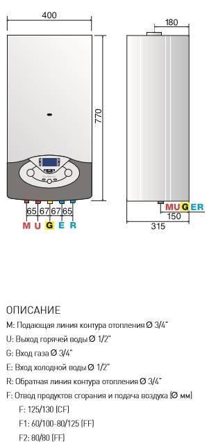 Газовый котел ariston: характеристики одноконтурной настенной продукции мощностью 24 квт, отзывы владельцев