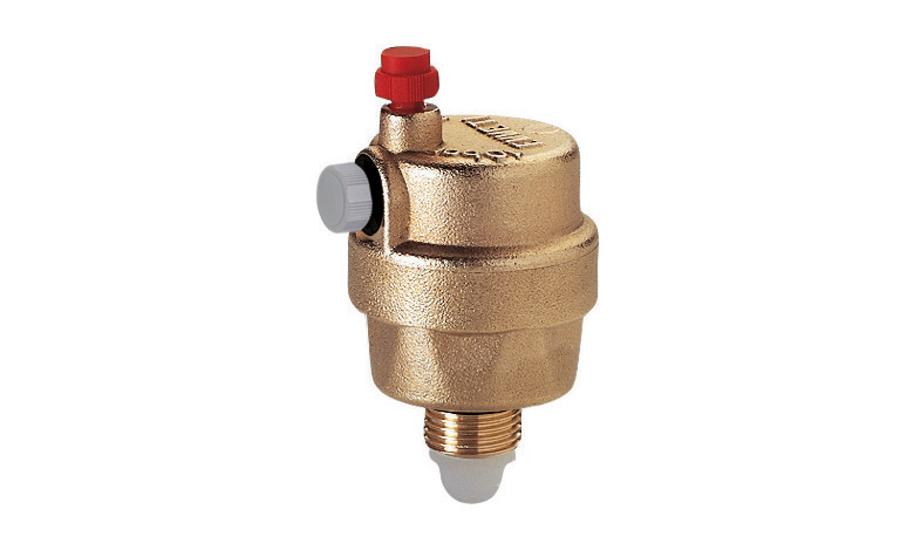 Автоматический воздухоотводчик: воздушный клапан для отопления и система сброса
