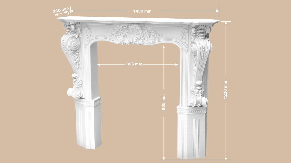 Декоративный камин из полиуретана: монтаж и варианты оформления