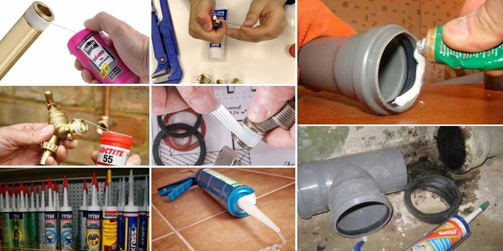 Жидкие герметики для устранения течи