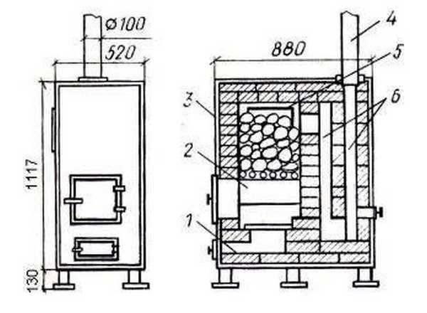Печь для бани своими руками - 95 фото, видео постройки, монтажа и установки