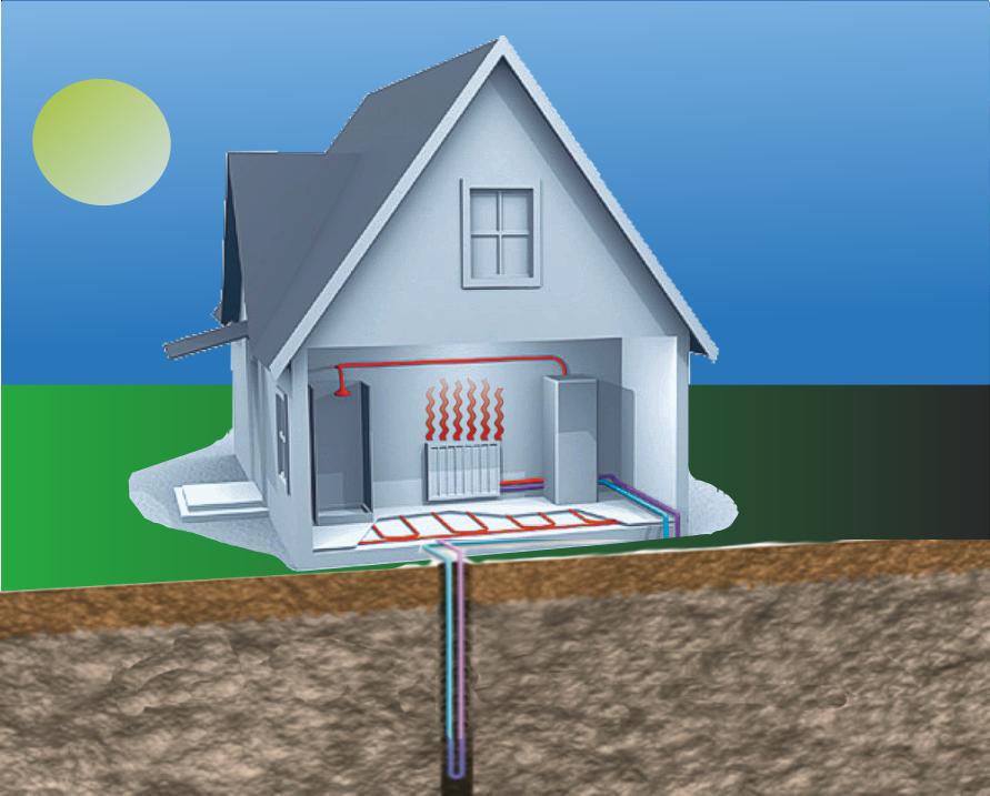 Геотермальное отопление дома своими руками, где можно применять, как установить