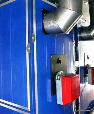 Воздушное отопление частного дома своими руками: варианты, плюсы и минусы системы, выбор теплогенератора