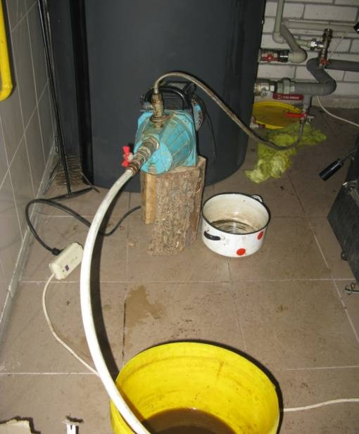 Как заполнить систему отопления антифризом