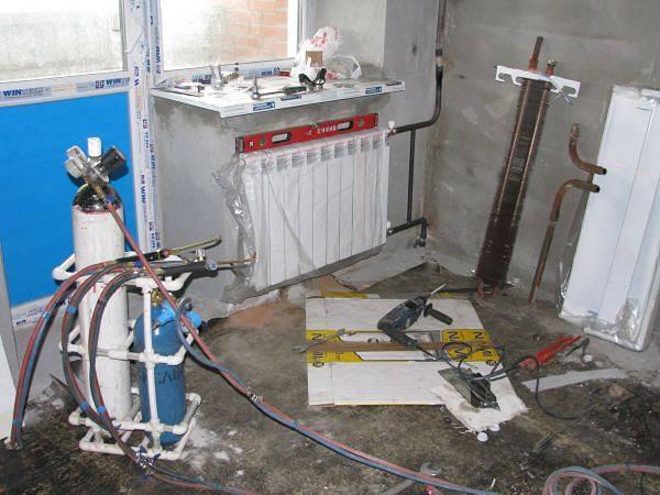 Гидропневматическая, гидравлическая, химическая промывка системы отопления в многоквартирном доме!
