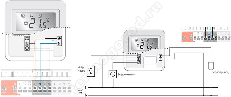 Решаем, как подключить термостат к газовому котлу автономного отопления