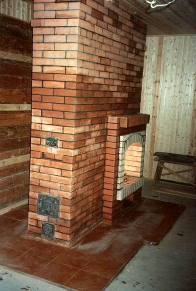 Как сделать камин печь для дома из кирпича - инструкция