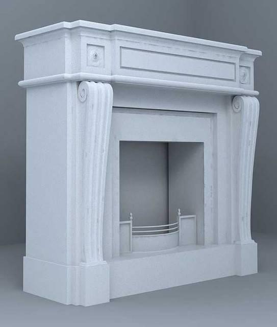 Делаем декоративный портал для камина из полиуретана