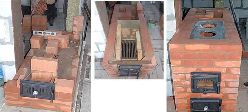 Какую печь с водяным контуром выбрать – кирпичную или металлическую