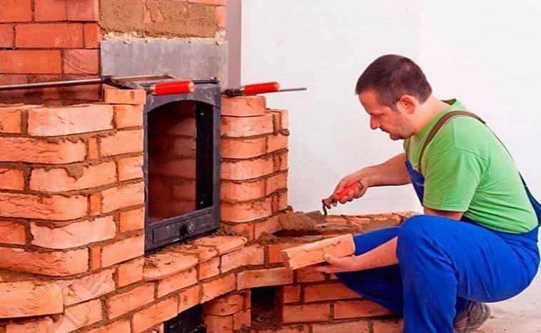 Как отремонтировать печку на даче