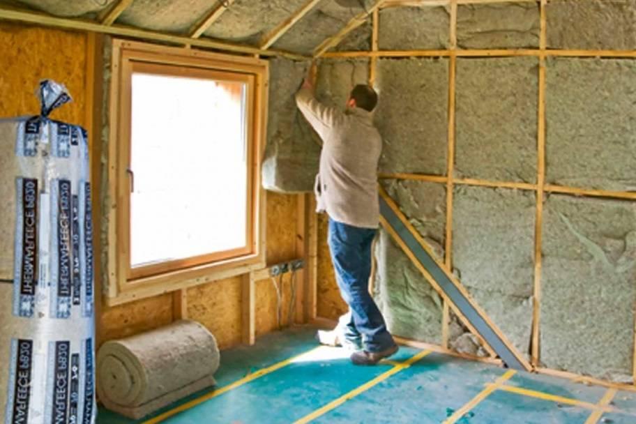 Как правильно утеплить крышу веранды?