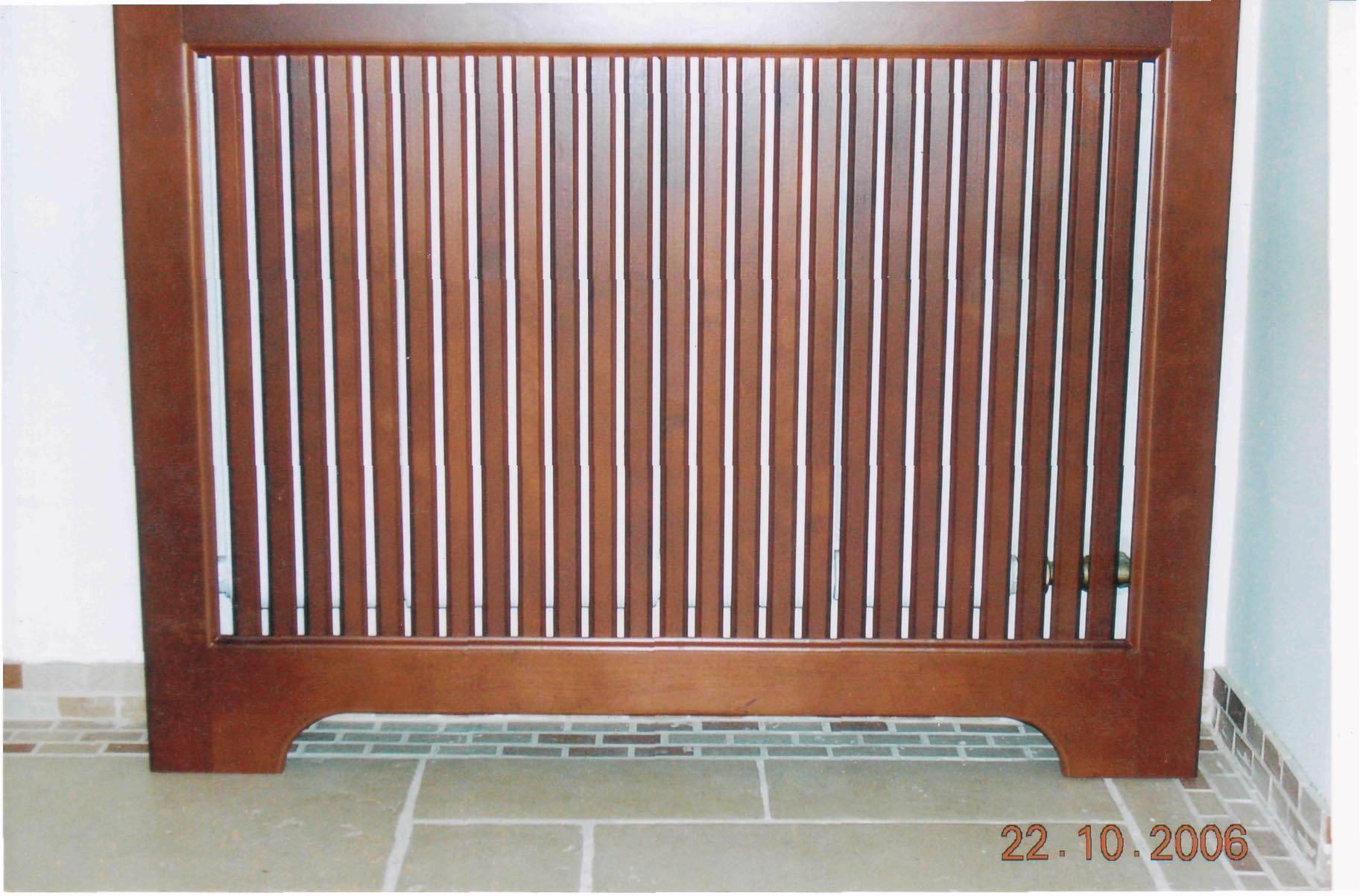 Декоративные решетки на радиаторы отопления, навесные решетки для батарей