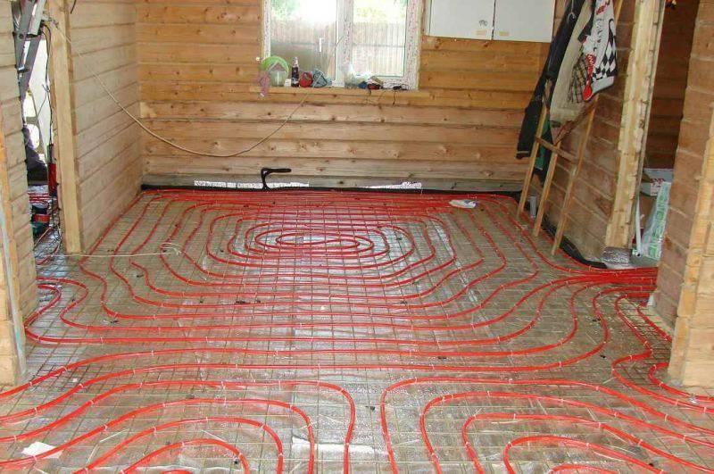 Электрический теплый пол на деревянный пол: как положить инфракрасный пол в деревянном доме, фото и видео