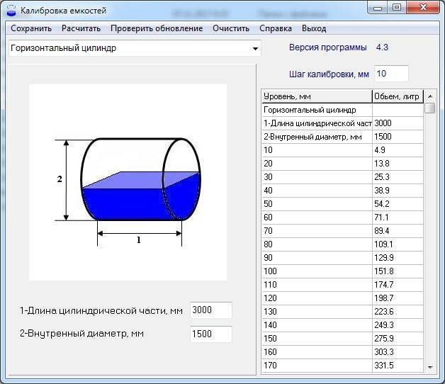Как рассчитать объем воды в трубе