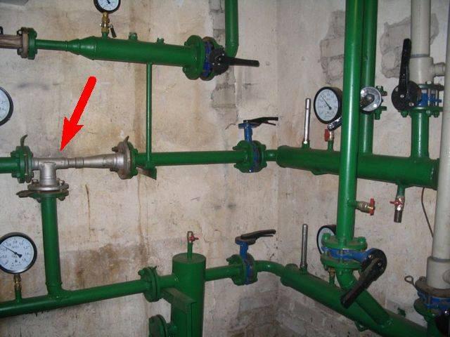 Особенности и устройство элеваторного узла системы отопления
