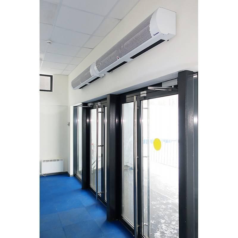 Водяная тепловая завеса: воздушные горизонтальные модели на входную дверь или окно. как установить своими руками? бытовые бесшумные завесы на воде для квартиры