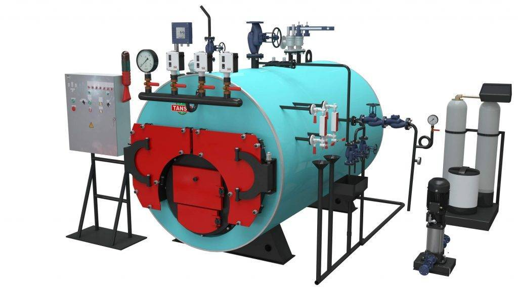Промышленные газовые котлы: принцип действия водогрейных, паровых моделей, эксплуатация на природном или сжиженном газе