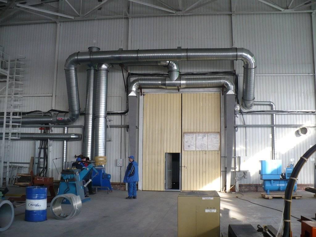 Отопление промышленных помещений - возможные варианты