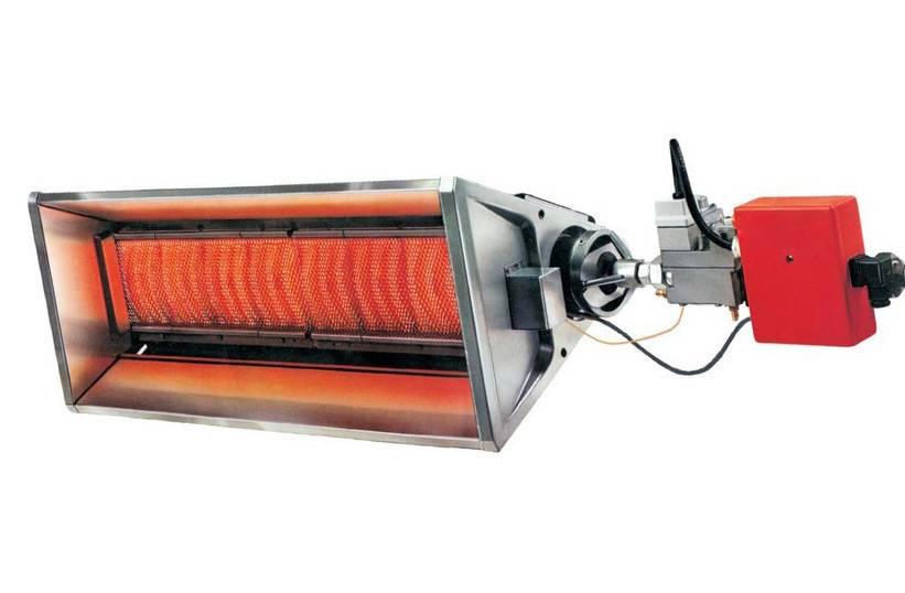 Чем интересны промышленные газовые инфракрасные обогреватели