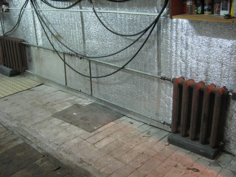 Как сделать дешевое отопление в гараже